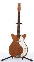 Musical Instruments:Bass Guitars, 1960's DANELECTRO Model #3612 Short Horn Copper Electric Bass Guitar #NA...
