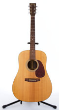 Musical Instruments:Acoustic Guitars, 1993 Martin D1-R Natural Dreadnaught Acoustic #NA...