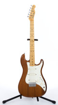 Musical Instruments:Electric Guitars, 1981 Fender USA Bullet Brown Electric Guitar #E115041...