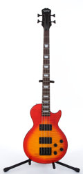 Musical Instruments:Bass Guitars, 1995 Epiphone Les Paul Sunburst Electric Bass Guitar #U5120353 ...