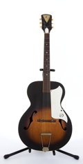 Musical Instruments:Acoustic Guitars, Vintage Kay P3 Archtop Acoustic Guitar #NA...