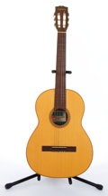 Musical Instruments:Acoustic Guitars, Vintage Giannini GN-65 Natural Classical Guitar #2355...
