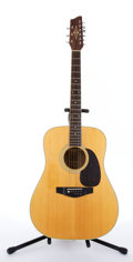 Musical Instruments:Acoustic Guitars, Alvarez 5958 Natural 9 String Acoustic Guitar #57240....