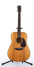 Musical Instruments:Acoustic Guitars, Sigma By Martin Anniversary Edition Natural Acoustic Guitar#S17331....