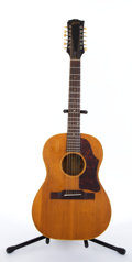Musical Instruments:Acoustic Guitars, 1960's Gibson B-25 Natural 12 String Acoustic Guitar #303701....