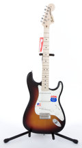 Musical Instruments:Electric Guitars, 2009/10 Fender Stratocaster Highway One Sunburst Electric Guitar#Z9377610...