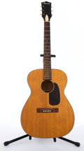 Musical Instruments:Acoustic Guitars, Vintage Harmony Natural Acoustic Guitar # N/A....