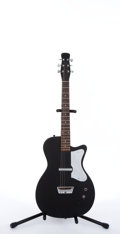 Musical Instruments:Electric Guitars, Danelectro Style Black Electric Guitar # N/A....