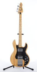 Musical Instruments:Bass Guitars, Peavey T-40 Natural Electric Bass Guitar #00364283....