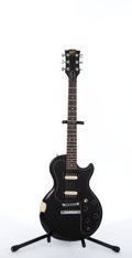Musical Instruments:Electric Guitars, 1981 Gibson Sonex-180 Deluxe Black Electric Guitar #81111664....