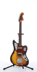 Musical Instruments:Electric Guitars, Circa 1965 Fender American Jaguar Sunburst Electric Guitar #L82683....