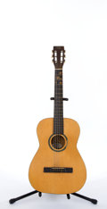 Musical Instruments:Electric Guitars, Vintage Silvertone Classical Natural Acoustic Guitar # N/A....