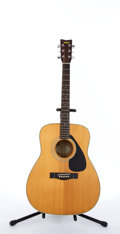 Musical Instruments:Acoustic Guitars, Yamaha FG-335 Natural Acoustic Guitar # N/A....