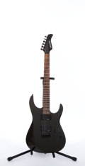 Musical Instruments:Electric Guitars, Fernandes Revolver Black Electric Guitar #309213....