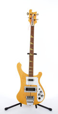 Musical Instruments:Bass Guitars, Circa 1980 Rickenbacker 4001 Natural Electric Bass Guitar #TA 308....