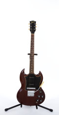 Musical Instruments:Electric Guitars, Circa 1967 Gibson SG Cherry Electric Guitar #894465....