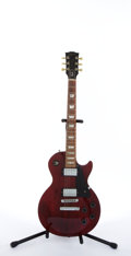 Musical Instruments:Electric Guitars, Circa 1996 Gibson Les Paul Studio Cherry Electric Guitar #92636339....