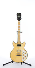 Musical Instruments:Electric Guitars, 1970's Ibanez Artist Natural Electric Guitar # N/A....