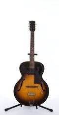 Musical Instruments:Electric Guitars, Vintage Gibson Archtop Semi-Hollow Body Electric Guitar #N/A....