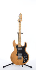 Musical Instruments:Electric Guitars, Circa 1979 Peavey T-60 Natural Electric Guitar # 00451749....