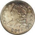 Bust Dimes, 1814 10C Small Date MS62 NGC....