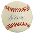 Autographs:Baseballs, Alex Rodriguez Single Signed Baseball. From 1996 through the 2006season, Alex Rodriguez has led the major leagues in home ...