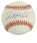 Autographs:Baseballs, Jim Catfish Hunter Single Singed Baseball. One of the most dominantpitchers in the 70's, Catfish Hunter led the American ...