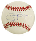Autographs:Baseballs, Tony Gwynn Single Signed Baseball. The newest Cooperstown inducteehas adorned the offered ONL (Coleman) baseball we see he...