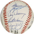 Autographs:Baseballs, 1989 Chicago Cubs Team Signed Baseball. Don Zimmer's finalmanagerial position was held as the skipper of the Chicago Cubs....