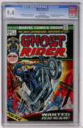 Bronze Age (1970-1979):Horror, Ghost Rider #1 (Marvel, 1973) CGC NM 9.4 White pages....