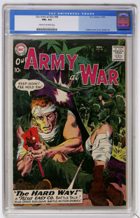 Our Army at War #88 (DC, 1959) CGC FN+ 6.5 Cream to off-white pages