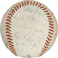 Autographs:Baseballs, 1974 Los Angeles Dodgers Team Signed Baseball. A total of 27signatures from the 1974 LA Dodgers appear here, including Tom...