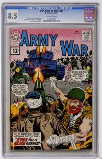 Our Army at War #113 (DC, 1961) CGC VF+ 8.5 Off-white pages