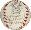 Autographs:Baseballs, 1968 National League All-Star Team Signed Baseball. In 1968baseball was ushering in a new era as the first All-Star Game p...