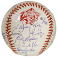 Autographs:Baseballs, 1998 New York Yankees World Champion Team Signed Baseball. Comingoff their remarkable 114-win season in 1998, the New York ...