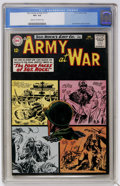 Silver Age (1956-1969):War, Our Army at War #127 (DC, 1963) CGC VF+ 8.5 Cream to off-white pages....