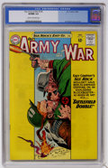 Silver Age (1956-1969):War, Our Army at War #135 (DC, 1963) CGC VF/NM 9.0 Cream to off-white pages....