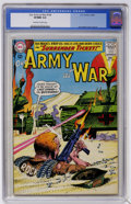 Silver Age (1956-1969):War, Our Army at War #149 (DC, 1964) CGC VF/NM 9.0 Off-white to white pages....