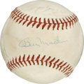 Autographs:Baseballs, 1975 AL All-Star Team Signed Baseball. Fourteen members of the 1975AL All-Stars have made their way to the OAL (MacPhail) ...
