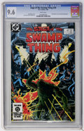 Modern Age (1980-Present):Horror, Saga of the Swamp Thing #20 and 21 CGC Group (DC, 1984) CGC NM+ 9.6White pages.... (Total: 2 Comic Books)