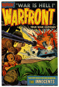 Golden Age (1938-1955):War, Warfront #13 File Copy (Harvey, 1953) Condition: NM-....