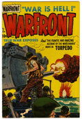 Golden Age (1938-1955):War, Warfront #15 File Copy (Harvey, 1953) Condition: NM-....