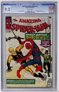 The Amazing Spider-Man #16 (Marvel, 1964) CGC NM- 9.2 Off-white pages