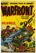 Golden Age (1938-1955):War, Warfront #25 File Copy (Harvey, 1955) Condition: VF....