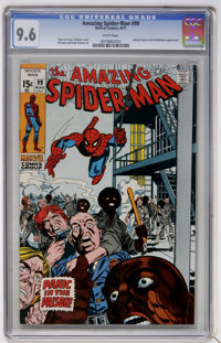 The Amazing Spider-Man #99 (Marvel, 1971) CGC NM+ 9.6 White pages