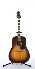 Musical Instruments:Acoustic Guitars, Gibson Blue Ridge B-SJ Sunburst Acoustic Guitar #82619010....
