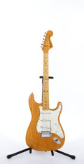 Musical Instruments:Electric Guitars, 1972 Fender American Stratocaster Natural Electric Guitar#337964....