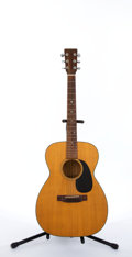 Musical Instruments:Acoustic Guitars, Circa 1974 Martin OO-18 Natural Acoustic Guitar #342841....