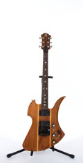 Musical Instruments:Electric Guitars, B.C. Rich Mockingbird Natural Electric Guitar #82684....