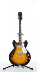 Musical Instruments:Electric Guitars, Circa 1960's Epiphone E-230TD Casino Sunburst Archtop Semi-HollowBody Electric Guitar #853929....